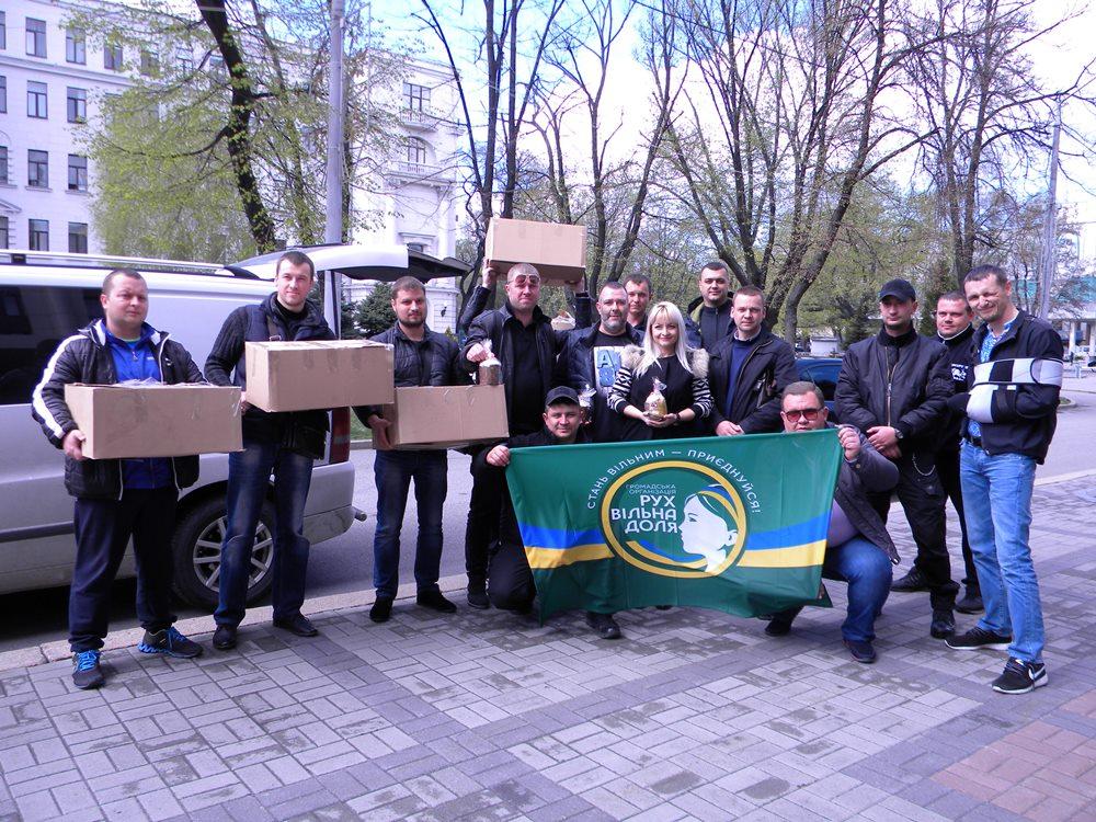 Паска для українського захисника