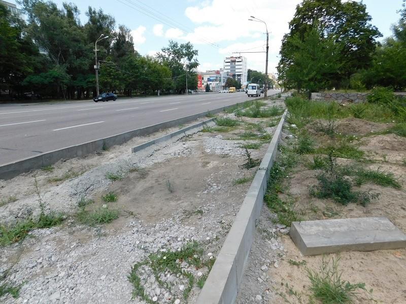 Корупція при реконструкції набережної